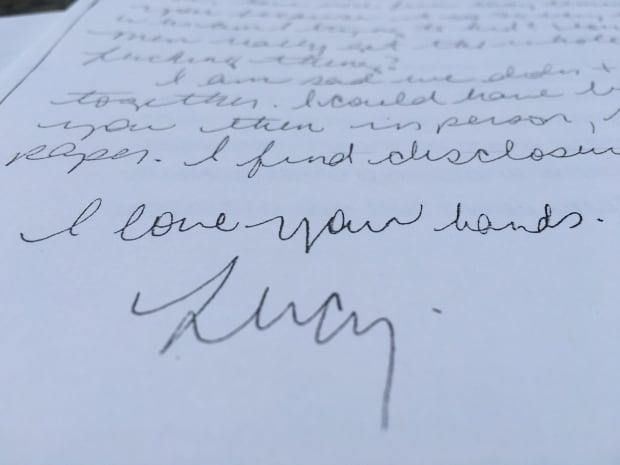 letter from Lucy
