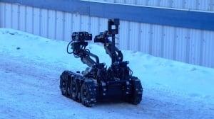 RCMP surveillance robot