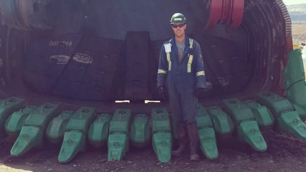Brendon Cunningham, 25, joined the trades after high school but decided to get a degree when he was laid off from his mining job in 2015.