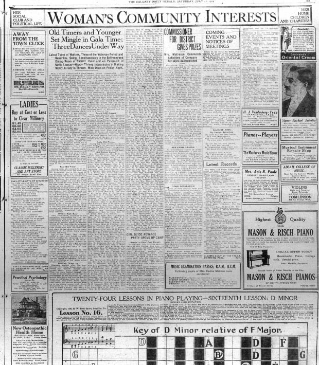 Herald 1924 dances Palliser
