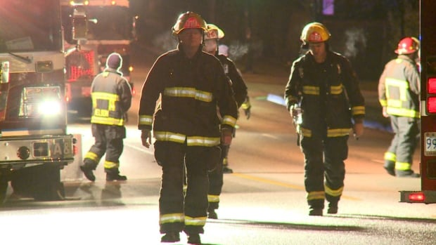 Vancouver firefighters were called to a fire on Arbutus Street late Friday night.