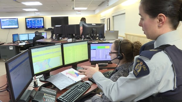 Cpl. Chantal Farrah manages the RCMP Operational Communications Centre in Fredericton last year. CUPE has applied to represent the Mounties' 745 civilian telecom operators.