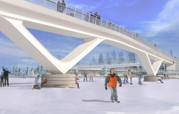 fifth clegg pedestrian bridge design