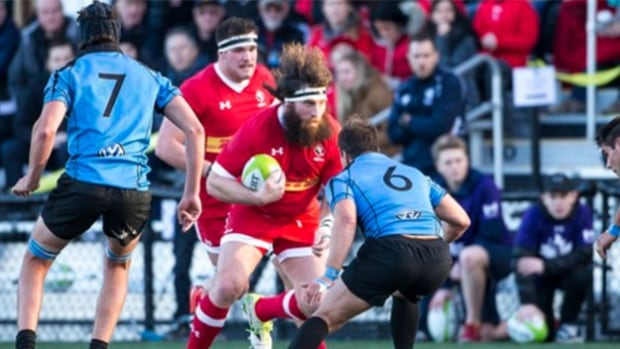 Canada defeated Uruguay 33-17 in Langley, B.C. on Saturday in their opening match of the Americas Rugby Championship.