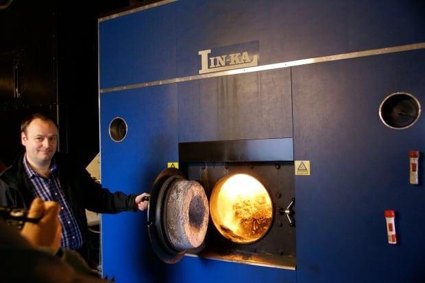 Straw-burning furnace, Samso