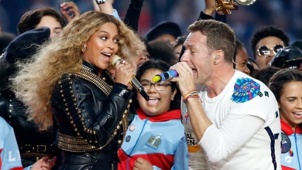 Coldplay was the headlining act at Sunday's Super Bowl halftime show, but it was Beyonce who delivered the sizzle.