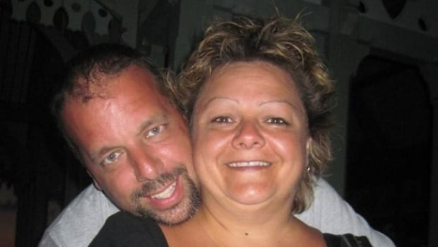 Yves Cyr, left, has been missing since Dec. 7. His fiancée, Anne Boudria, says they were a normal, quiet couple, and she can't see anything in his past to explain his disappearance.
