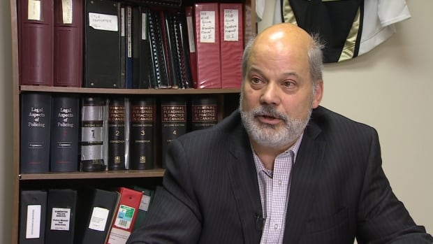Edmonton Lawyer Tom Engel has filed a lawsuit against a remand centre guard who allegedly told students that lawyers with a firm smuggled drugs to clients in lock-up.