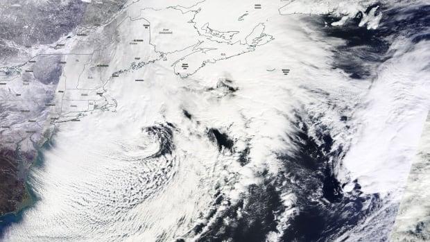 Winter storm February 15, 2015