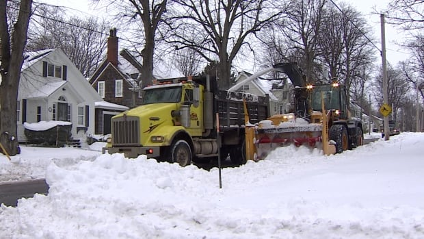 Charlottetown's new snow clearing equipment is getting a workout after a weekend storm.