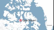 Gjoa Haven map