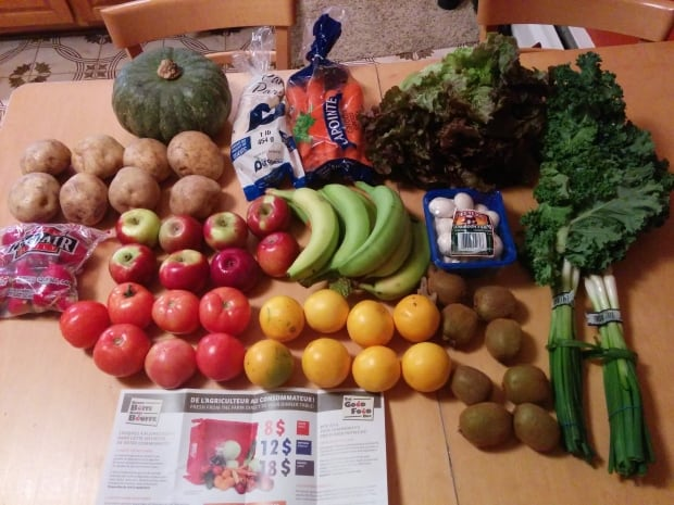 Fresh food from The Good Food Box