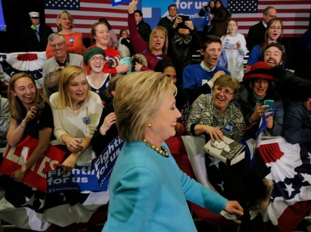 US-Presidential ELECTION Hillary CLINTON Hudson NH Feb 8 2016
