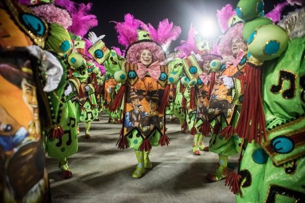 performers Rio Brazil Carnival