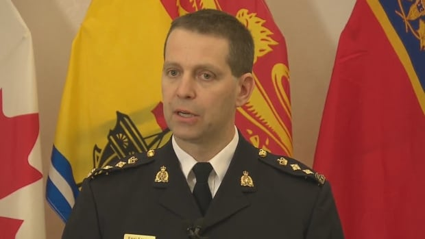 Chief Superintendent Eric Stubbs spoke about the recommendations being implemented by the RCMP in response to the Moncton shooting of three police officers.