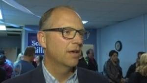 Police Board chair Scott Gillingham
