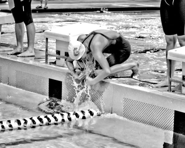 N.L. swimmer Alyssa Davis