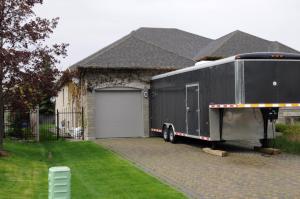Bosma truck Millard trailer