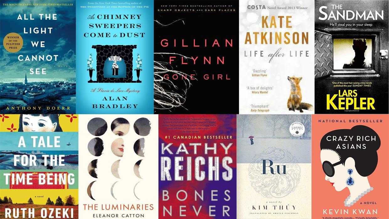 Vancouver Public Library reveals top 10 fiction books