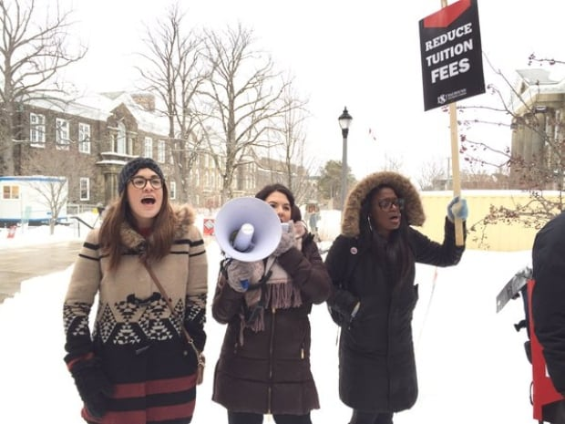 Dal Tuition Fees Protest