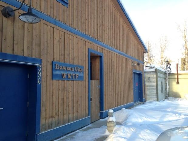 Dawson City sewage plant