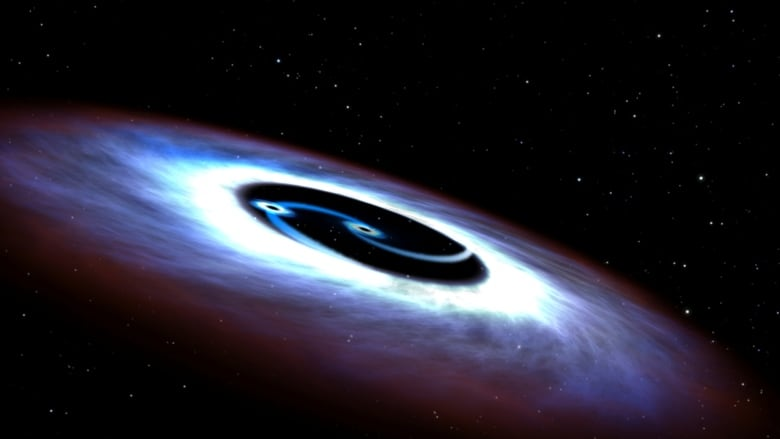 NASA binary black hole Markarian 231