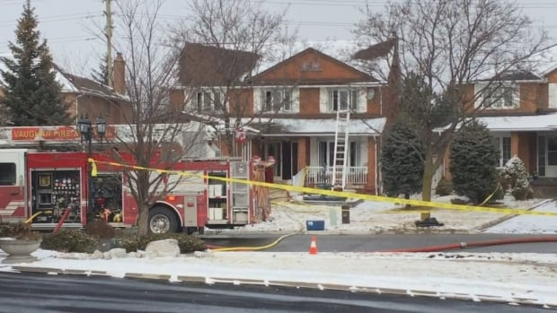Vaughan fire crews were called to a home on Dante Court after a report smoke was coming out of the home. An elderly man was found dead in the kitchen, according to Vaughan fire officials.