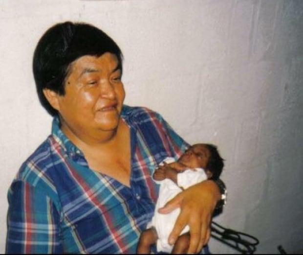Josiah Wilson as baby