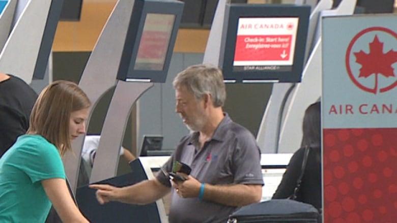 Air Canada passengers