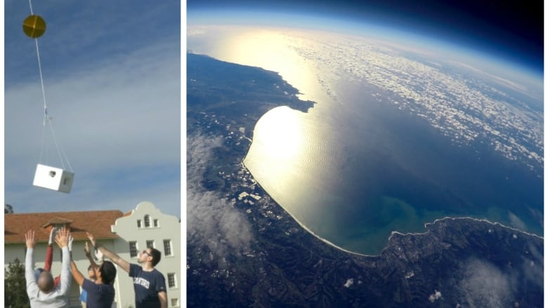 Weather balloon guys do it again, send their GoPro way up