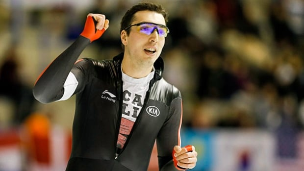 Canadian speed skater Alex Boisvert-Lacroix is ranked second in the World Cup standings in the 500 metres.
