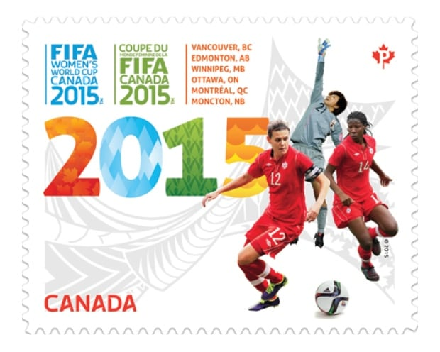 FIFA soccer stamp