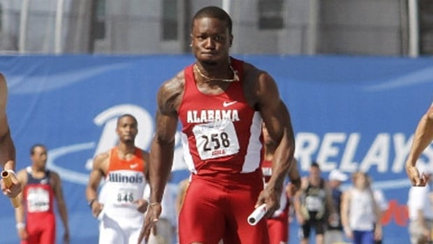 Former University of Alabama Crimson Tide sprinter Dushane Farrier of Toronto has been barred four years for a doping violation. The 26-year-old tested positive for SARM S-22 during an in-competition doping control at the Canadian track and field championships July 3 in Edmonton. SARMS - selective androgen receptor modulators - are a class of hormones that produce similar effects to anabolic steroids.