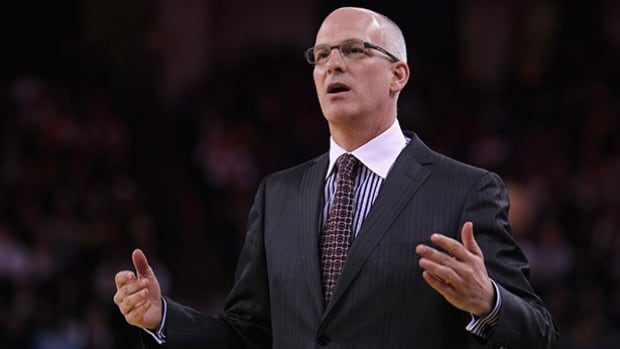 Jay Triano, head coach of Canada's men's basketball team, says he hopes his players are motivated by last fall's missed chance at Olympic qualification.