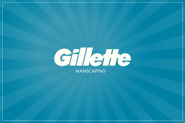 Gillette Manscaping