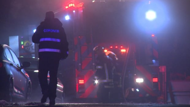 One person was found dead in a pool house on a Langley residence, after a fire broke out on Wednesday evening.