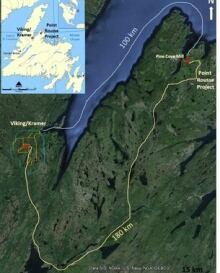 Anaconda mining Viking-Kramer property