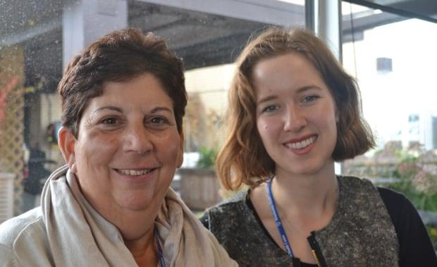Ellen Locke and Natalie Baird