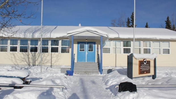 Nelnah Bessie John School, which goes from kindergarten to Grade 9, is Beaver Creek's only school. After the school council quit and some parents pulled their children from classes, it's now down to six students from 11.