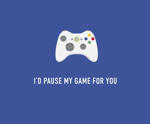 Classy Cards - Pause My Game