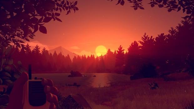 Firewatch sunset