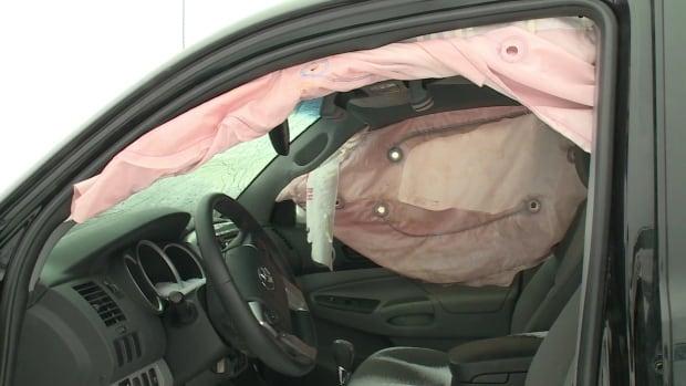 Shawn Feener's airbag