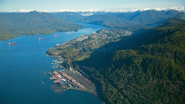 The Port of Prince Rupert.