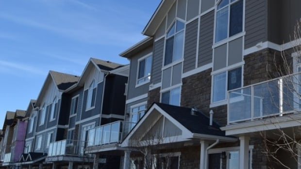 This townhouse development is one of several options from Attainable Homes Calgary.