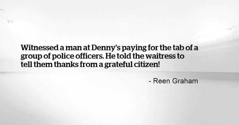 Calgarians Share Their Random Acts Of Kindness