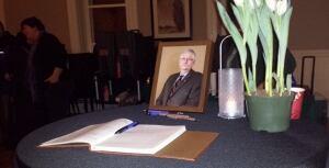 Bernard Cameron book of condolences