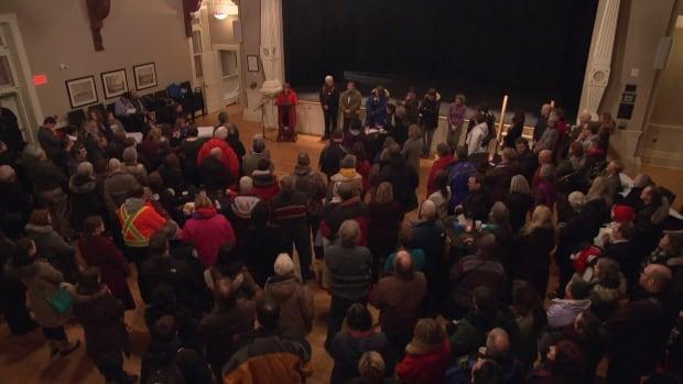Bernard Cameron memorial Almonte Old Town Hall Feb 11 2016