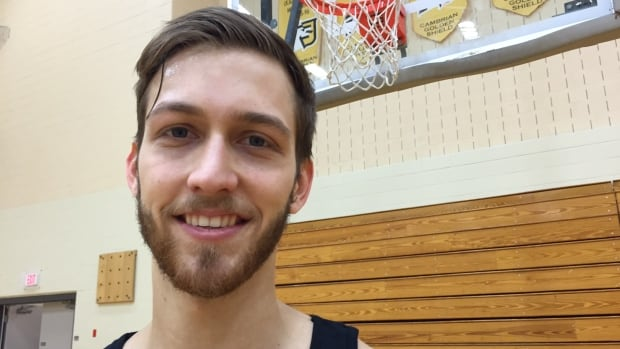 Jordan Kilganon of Sudbury is a professional slam dunker.