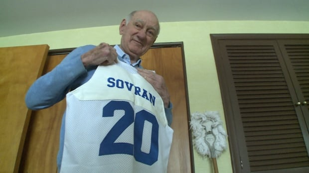 Gino Sovran, was a member of the 1946 Toronto Huskies that played in the Basketball Association of America.