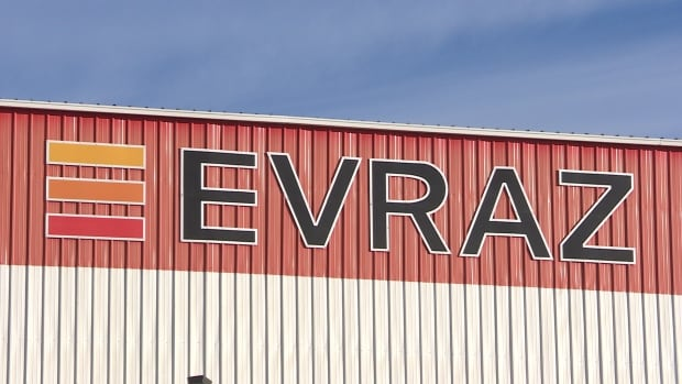 Evraz's Calgary operation, with 300 workers, has voted unanimously to strike amid negotiations. The company's Regina plant, pictured, is the main pipeline supplier of the Trans Mountain expansion project.